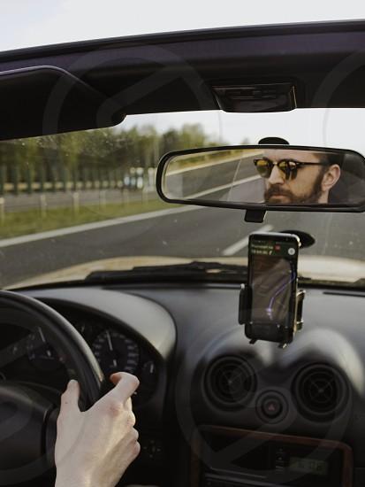 Road driving car photo