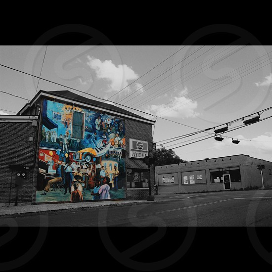 Mural seen in downtown Lexington KY. Original photo/size available.  photo