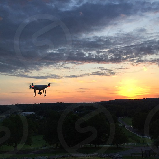 Drone flying drone drone in action drone footage flying photo
