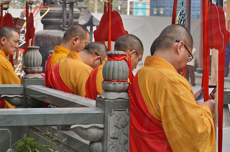 Jade Buddha Temple - Shanghai China photo