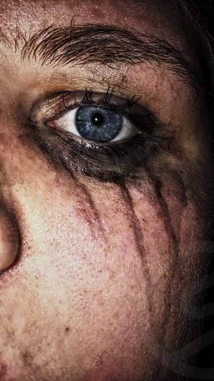 Eyes emotion raw photo