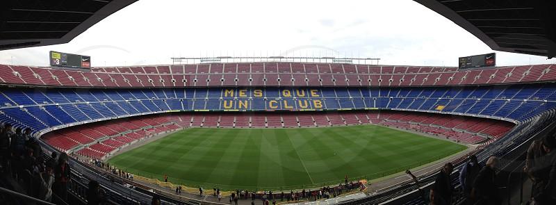 Nou Camp. Barcelona. Spain. photo