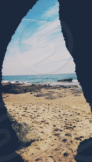 Cave at Laguna Beach photo