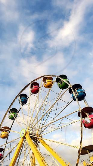 Fair Farris wheel fun photo