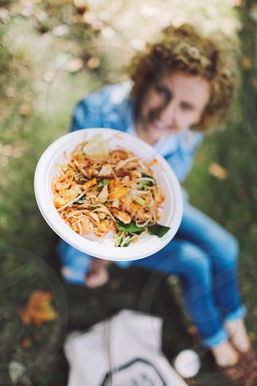 pad thai street food netherlands haarlem photo