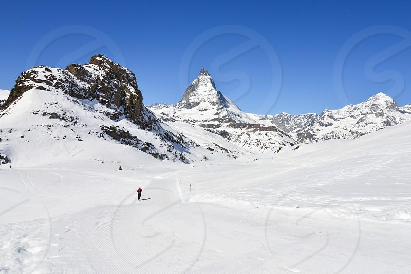 Hiking to Matterhorn photo