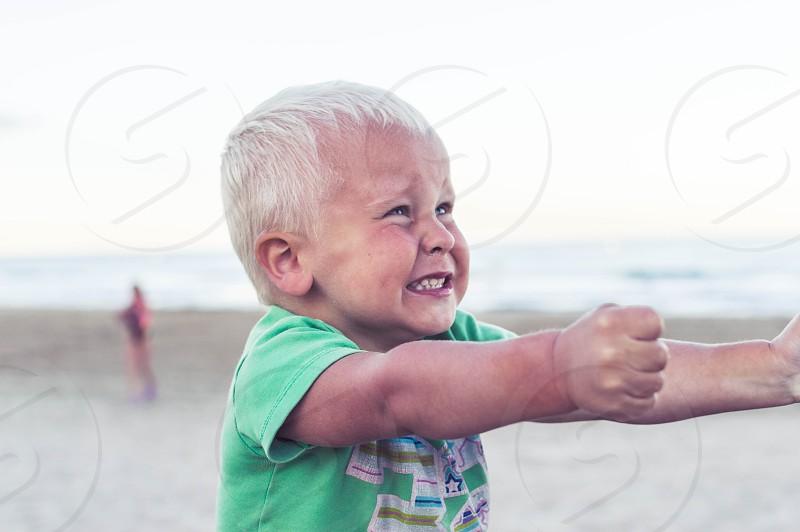 angry boy photo