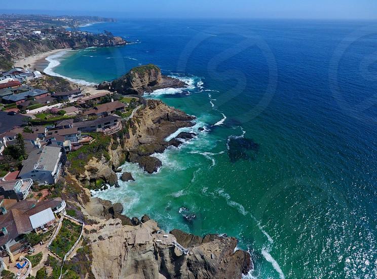 Beach ocean drone DJI waves nature photo