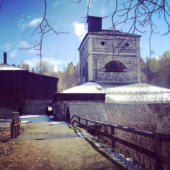 Old Factory in Dalarna Sweden. photo