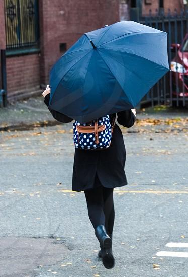Umbrella girl photo