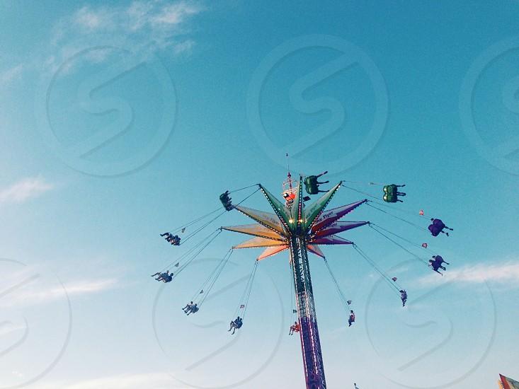 County fair amusement ride photo