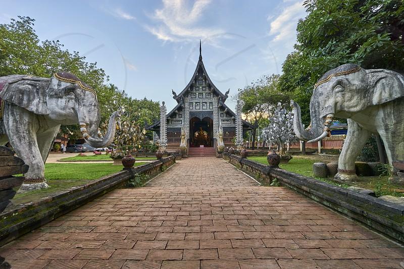 Wat Lok Moli Chiang Mai photo