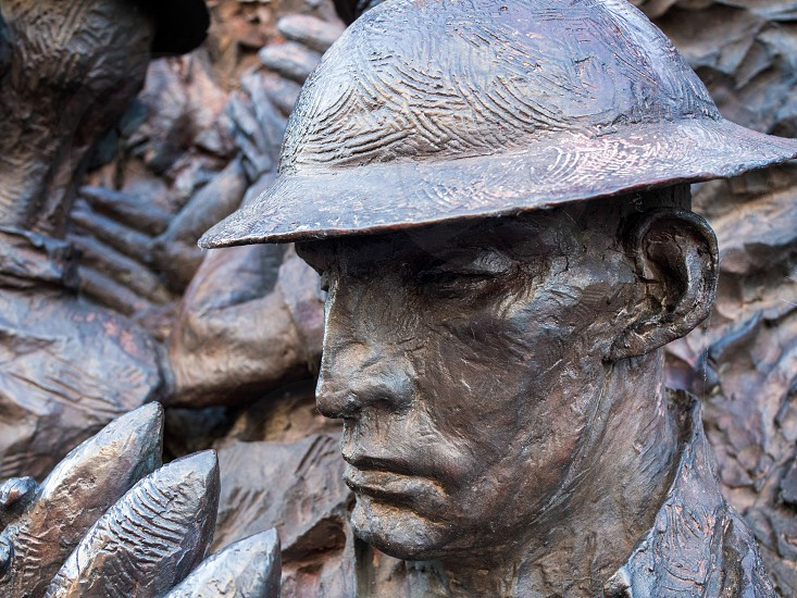 Close-up of Part of the Battle of Britain War Memorial photo