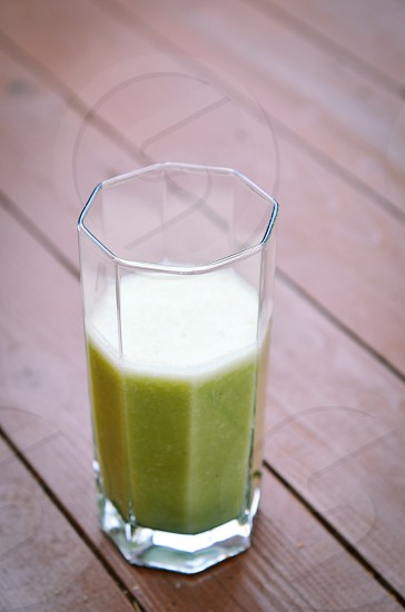 St Patrick's Day smoothie green drink beverage photo