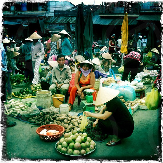 Vietnam market photo