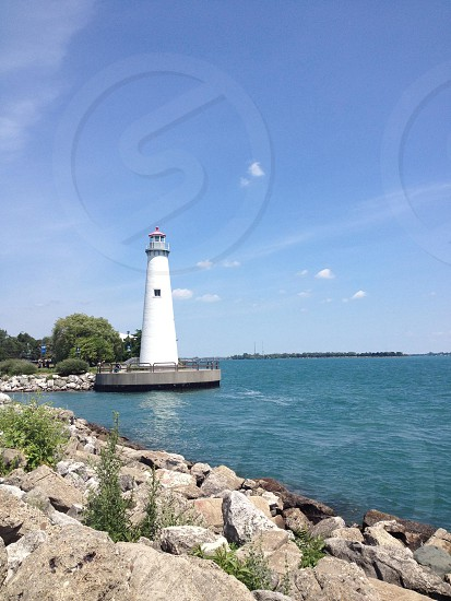 Detroit River Lighthouse photo