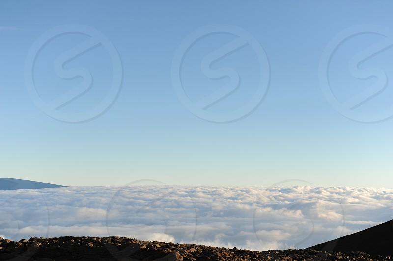 Mauna Kea Hawaii USA. photo
