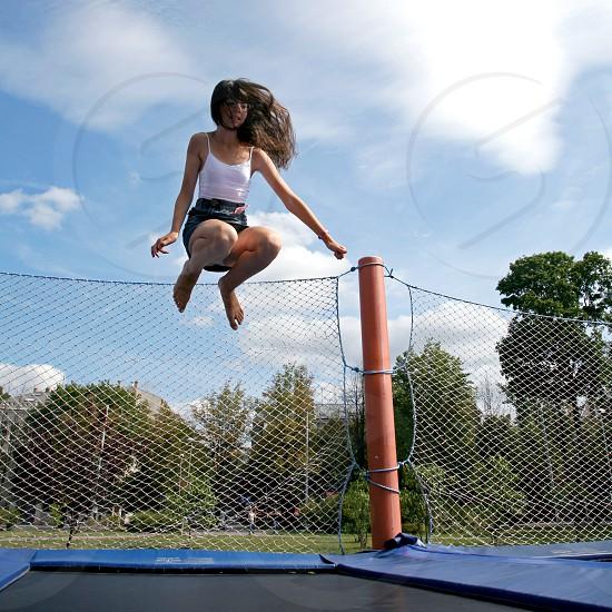 Jump high photo