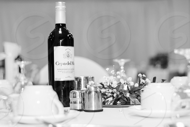 Table Setting for Wedding Reception photo
