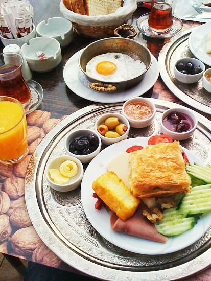 breakfast Palet restaurant Ankara Turkey photo