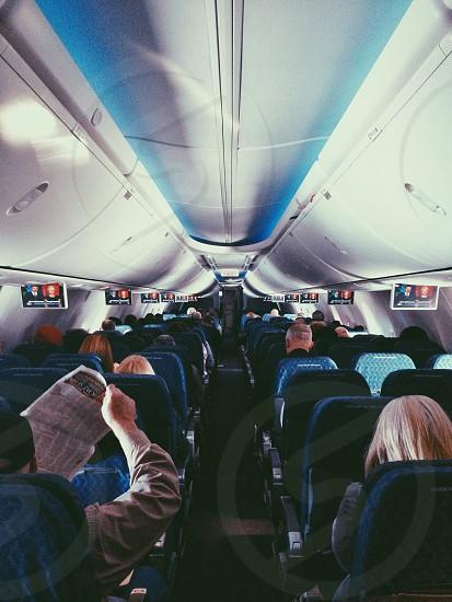 airplane interior photo