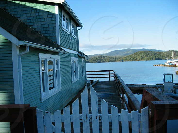 Old House overlooking Prince Rupert Harbour. photo