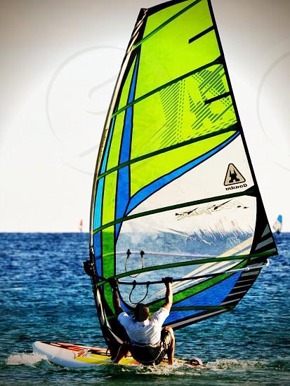 Surf windsurfing surfing water wave waves sea ocean sail cool photo