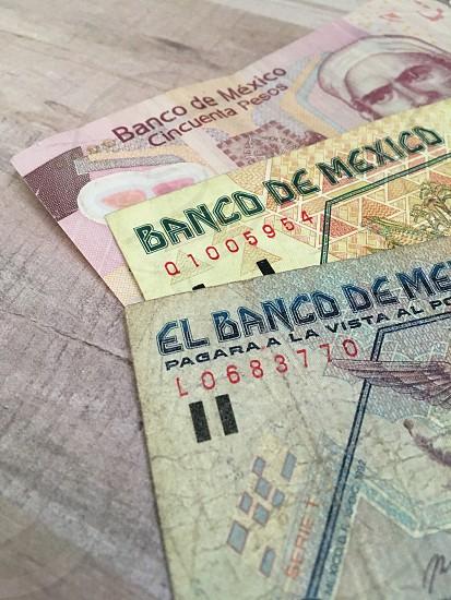 Mexico money  photo