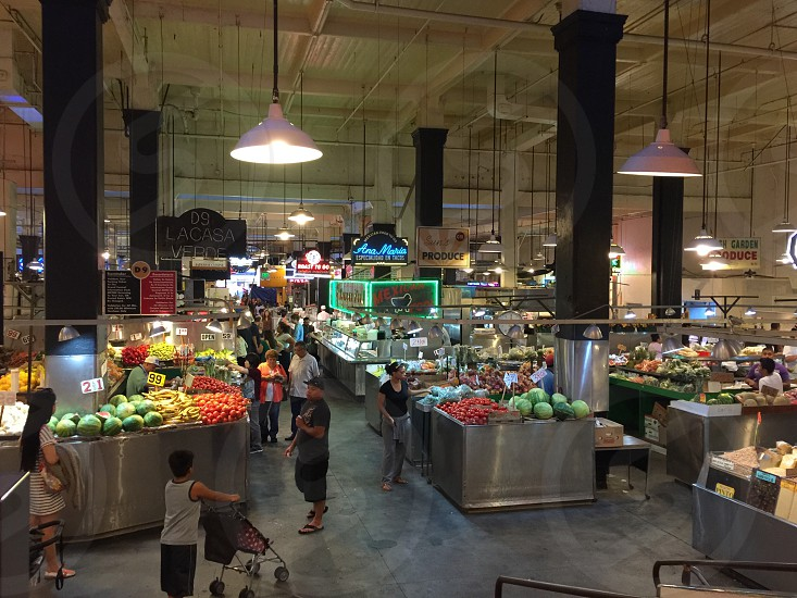 Grand central market- Los Angeles photo