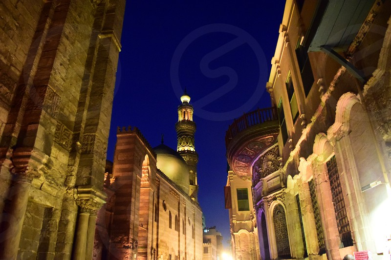 khan-el-khalili area cairo egypt islamic hitory  el moezz street photo