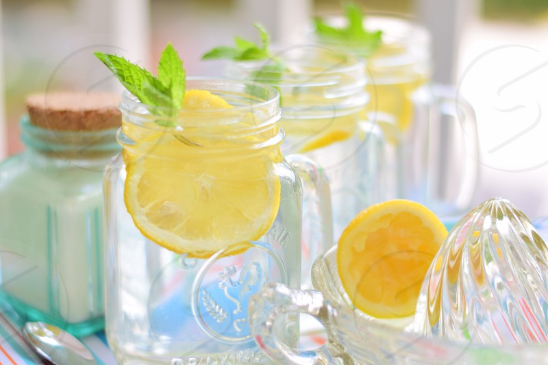 Vodka lemonade photo