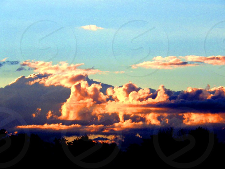 Clouds on the Mountain photo