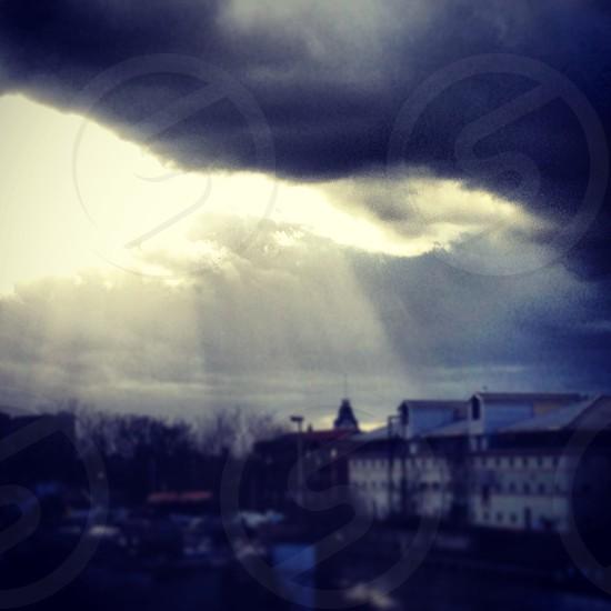 Cloud break  photo