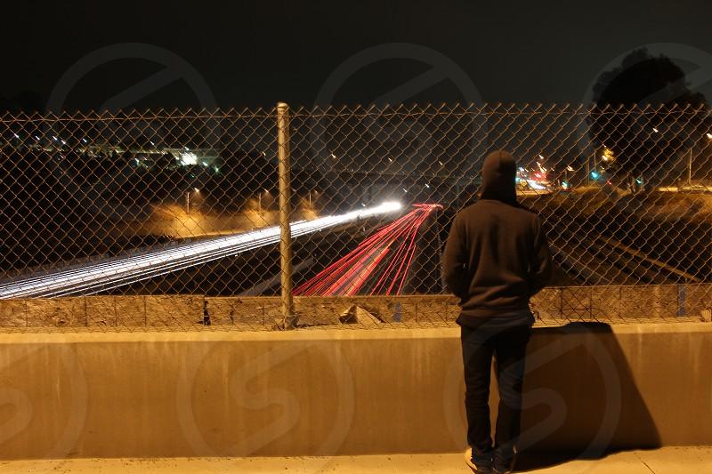 Los Angeles youth freeway photo