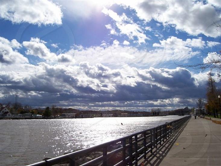 Morning at Lake Ontario NY photo
