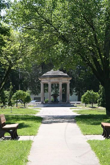 Beautiful park veiw photo