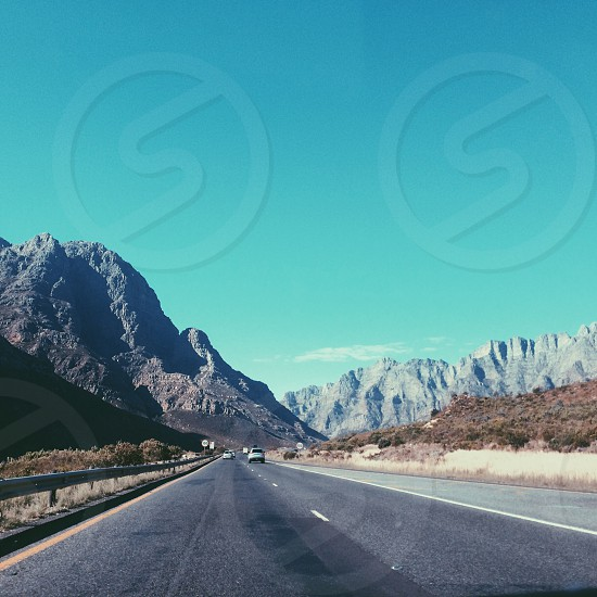 Cape Town South Africa. Mountain drives photo