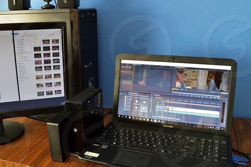 Backup video projects  photo