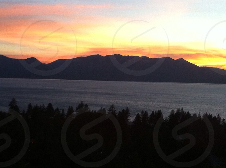 Sunset Lake Tahoe  photo