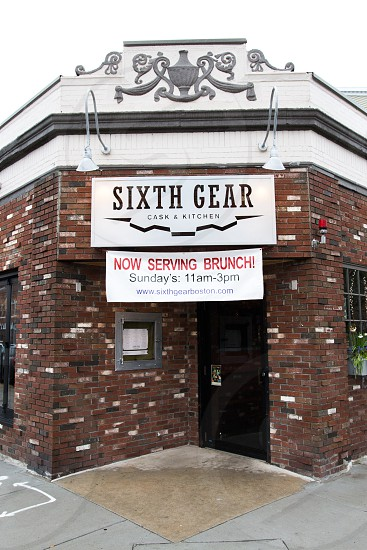 facade photo of sixth gear cask & kitchen during daytime photo