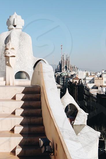 Casa Milà  Barcelona  Spain  architecture  Antonio Gaudi  photo