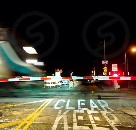 Keep clear  photo