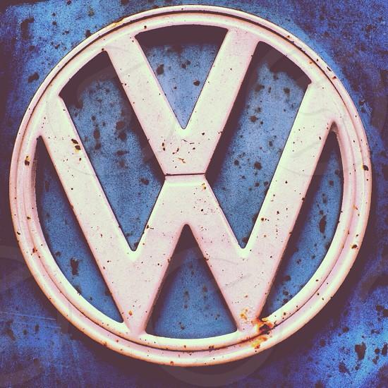 Volkswagen logo photo
