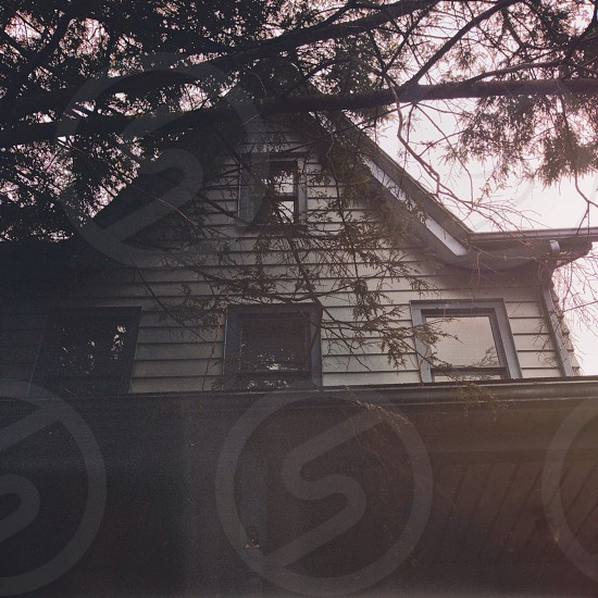 #horror #house #love #spring  photo