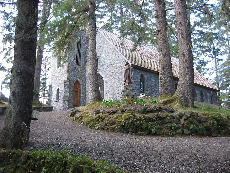 Historic Roman Catholic Church chapel Juneau Alaska photo