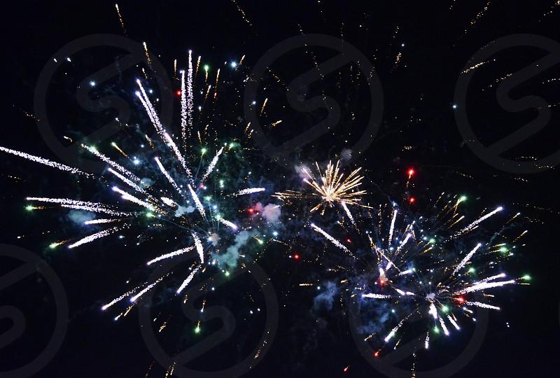 4th of July fireworks celebration photo