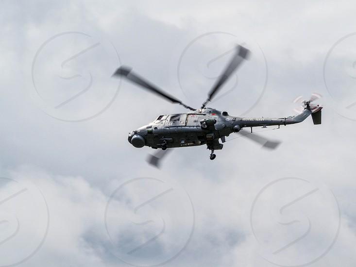 Royal Navy Black Cat Lynx photo