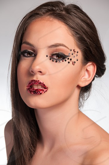Makeup photography in my studio photo