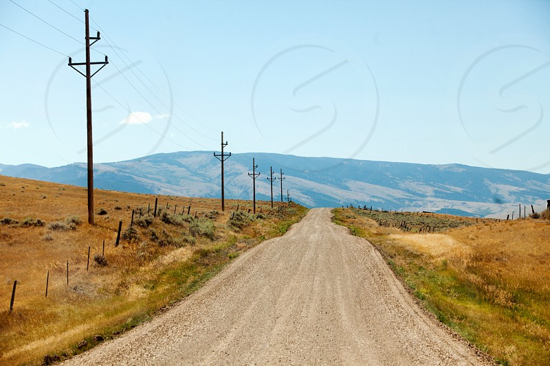 Wyoming; west; dirt road; country; rural; travel; off the beaten path; explore; vacation photo