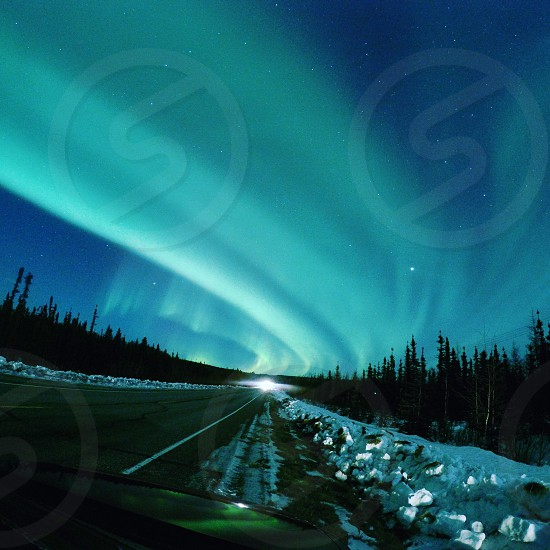 Breathtaking northern lights over Chena Hot Springs! photo